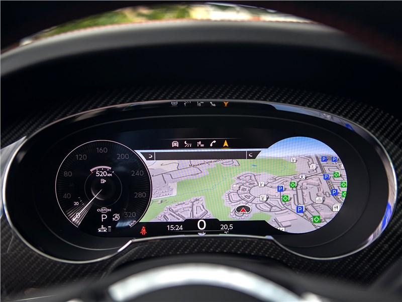Bentley Bentayga (2021) приборная панель