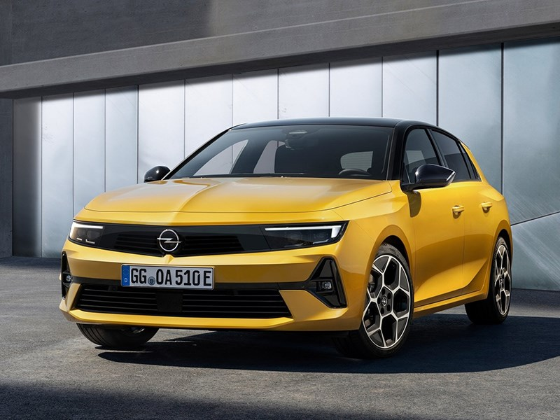 Opel Astra станет электрическим