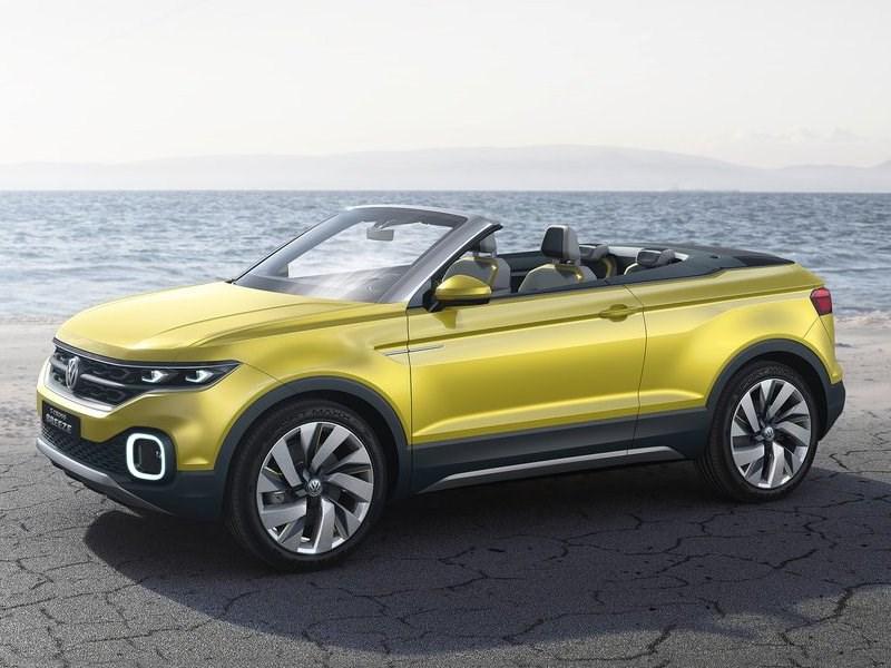 Volkswagen запатентовал дизайн открытого вседорожника