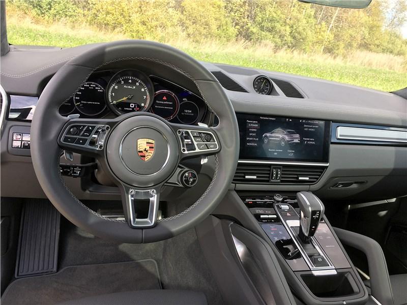 Porsche Cayenne Turbo S E-Hybrid Coupe 2020 салон
