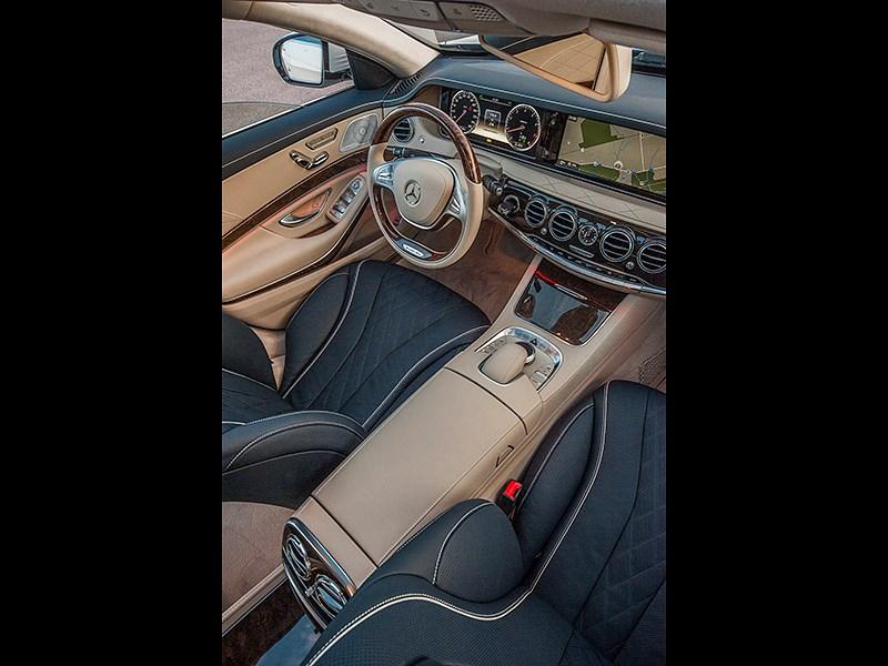 Mercedes-Benz S-Klasse 2013 передние кресла