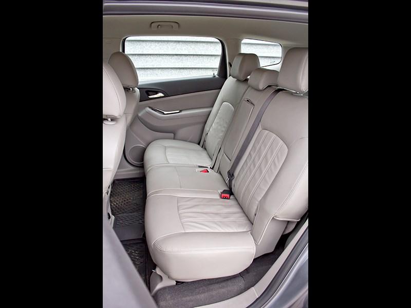 Chevrolet Orlando 2013 задний диван