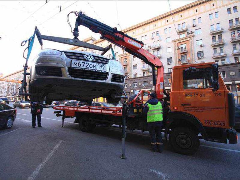 Столичные власти будут выплачивать компенсации тем, чьи автомобили пострадают во время эвакуации