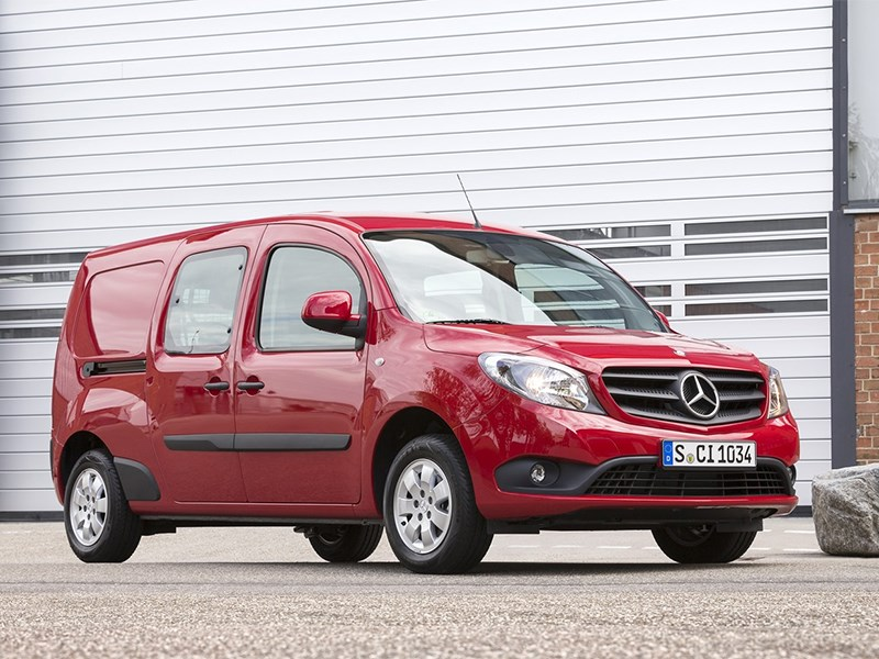 Mercedes-Benz представил минивэн Citan Crewbus на базе Renault Kangoo