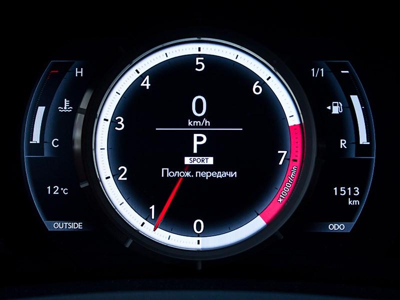 Lexus IS FS 2013 приборная панель