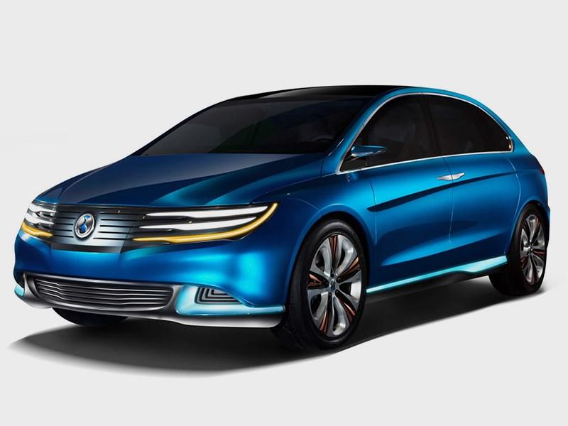 Серийный электромобиль Denza EV поступит в продажу в середине 2014 года