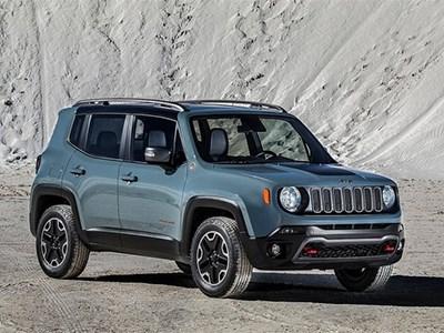 Новый Jeep Renegade собирается на территории Европы
