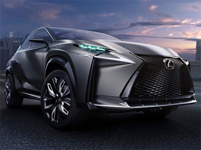Премиальный кроссовер Lexus NX дебютирует в конце апреля в Пекине