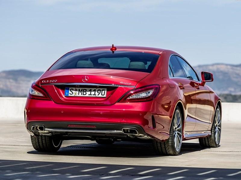 Mercedes-Benz CLS-Klasse 2015 вид сзади