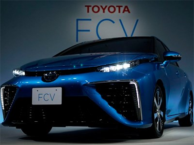 Первый водородный автомобиль Toyota назовут Mirai