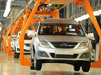 Показатели производства новых автомобилей в РФ падают, доля иномарок российской сборки растет
