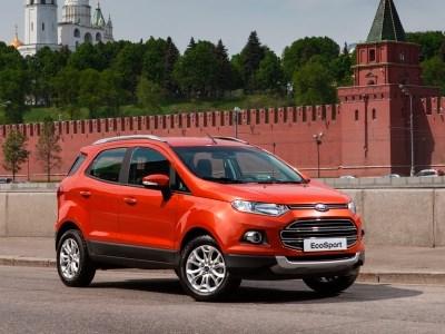 Опубликован рублевый прайс-лист на новый Ford EcoSport