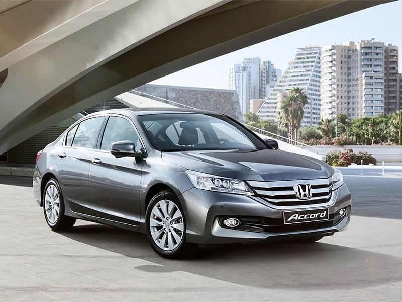 Новый Honda Accord - Honda Accord 2015 Эффектность и эфективность