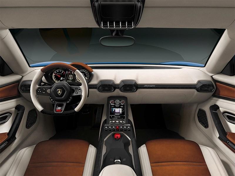 Lamborghini Asterion LPI 910-4 concept 2014 салон