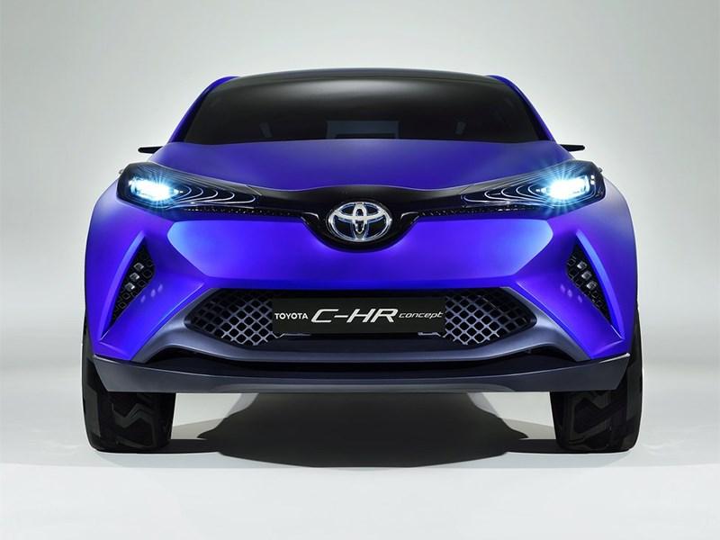 Toyota CH-R concept 2014 вид спереди
