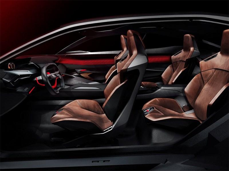 Peugeot Quartz Concept 2014 салон