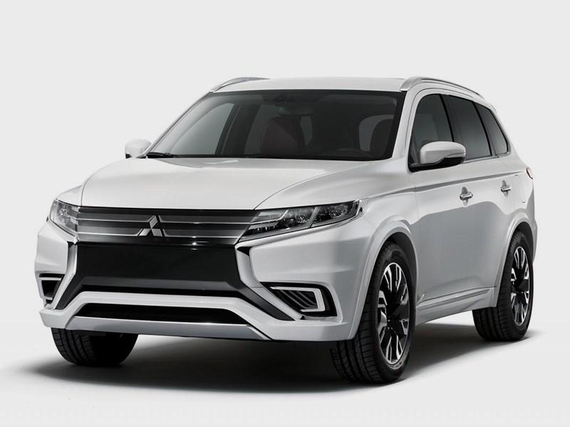 Новый Mitsubishi Outlander PHEV - Mitsubishi Outlander PHEV Concept-S 2014 Возвращение агрессии