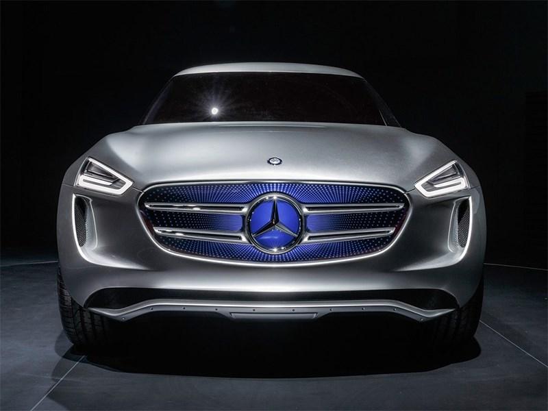 Mercedes-Benz G-Code concept 2014 фас