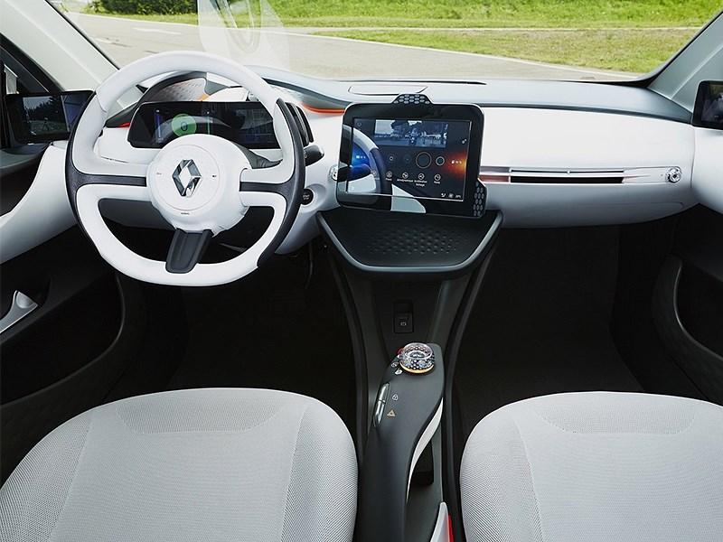 Renault Eolab Concept 2014 водительское место