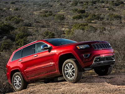 Jeep Grand Cherokee получит шестицилиндровый турбомотор Pentastar