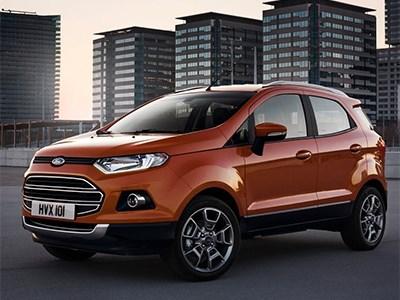 Ford будет выпускать EcoSport и Fiesta в Набережных Челнах