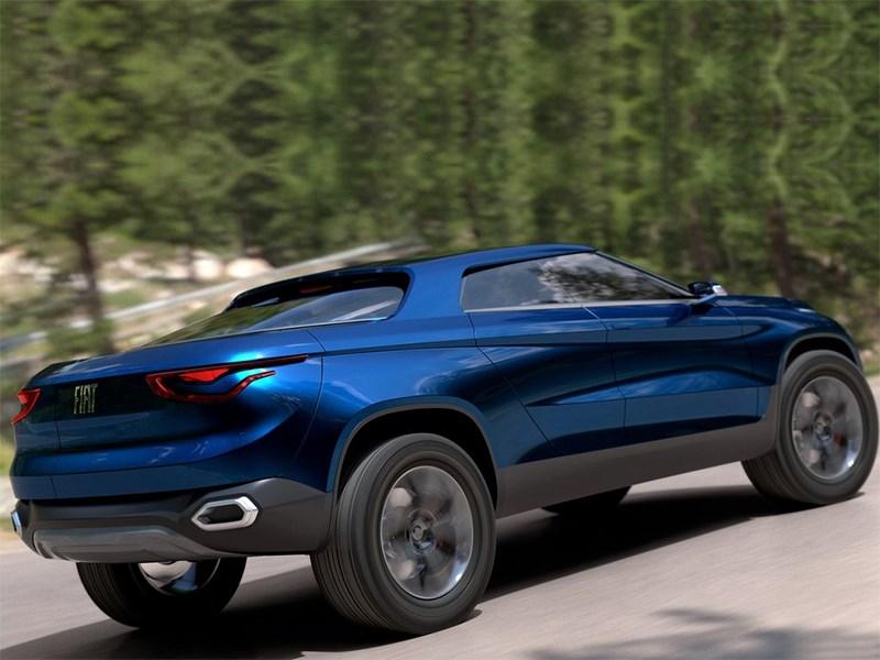 Fiat FCC4 concept 2014 вид сбоку сзади