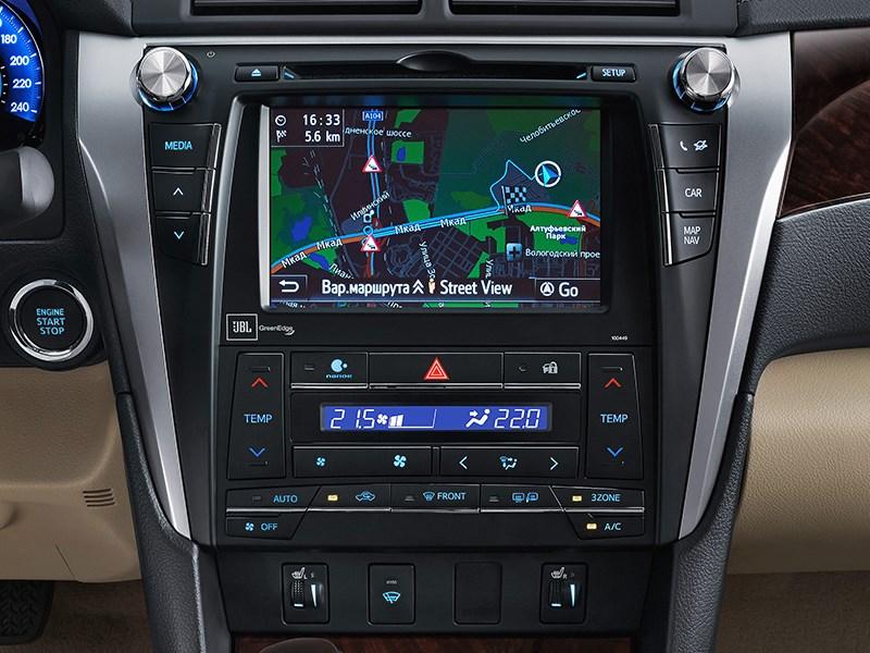 Toyota Camry 2014 центральная консоль