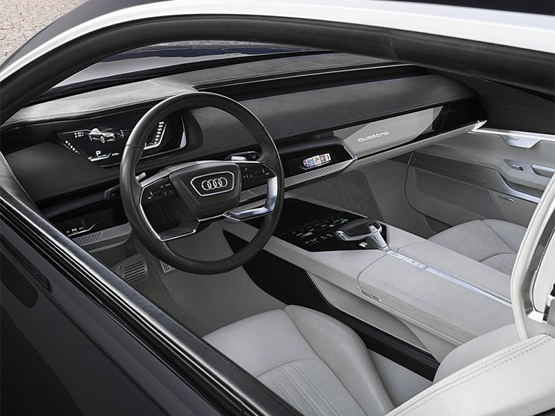 Audi Prologue concept 2015 салон