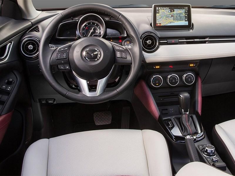 Mazda CX-3 2015 водительское место