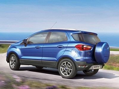 Обновленный Ford EcoSport появится уже в мае текущего года