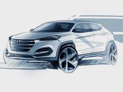 Hyundai анонсировал премьеру нового поколения кроссовера Tucson