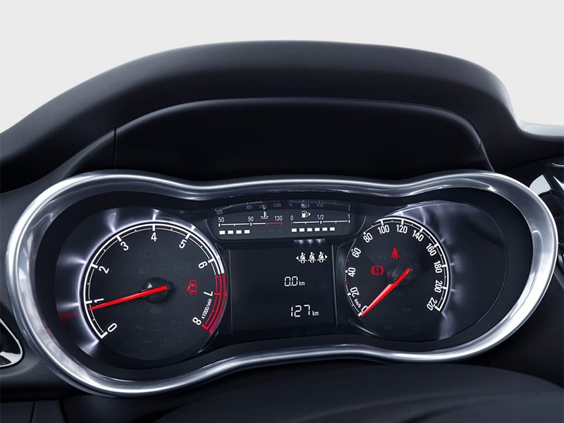 Opel Karl 2015 приборная панель