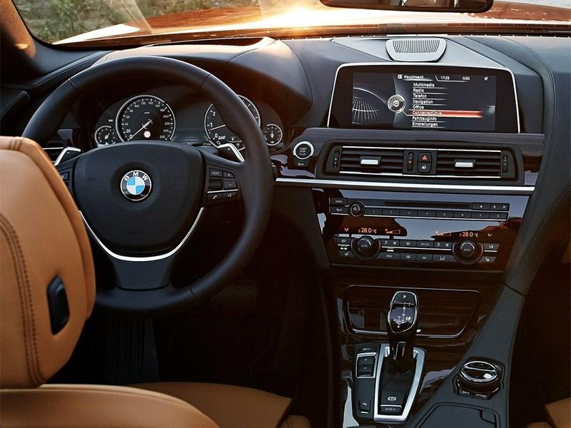 BMW 6-Series Convertible 2015 водительское место
