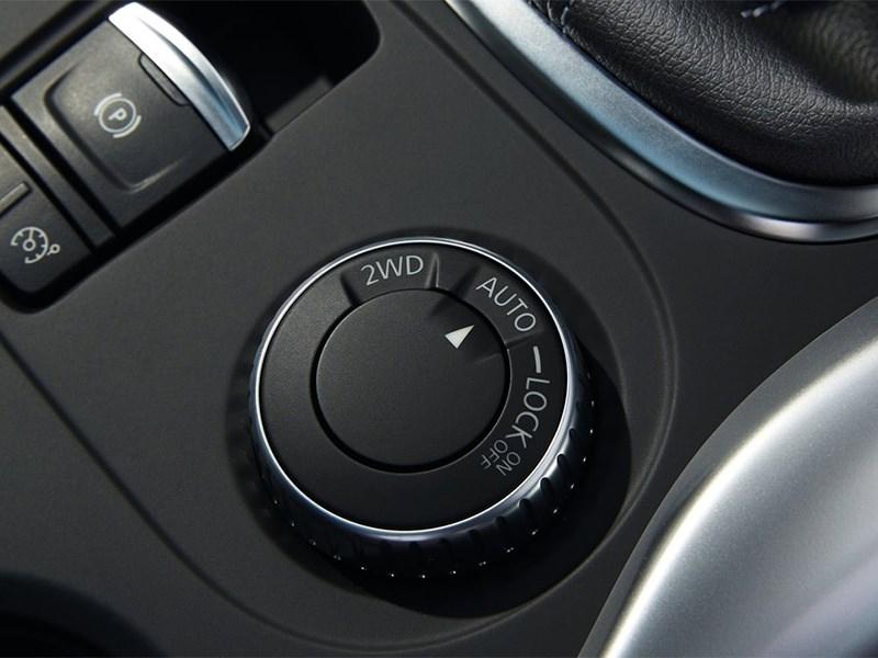 Renault Kadjar 2016 управление приводом