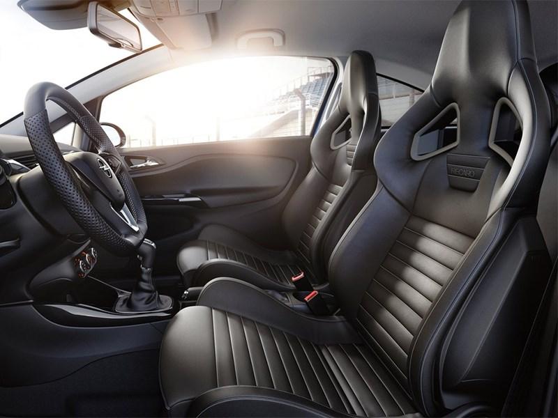 Opel Corsa OPC 2015 передние кресла