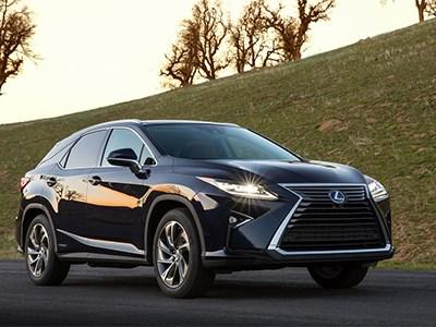 Lexus RX нового поколения дебютировал в Нью-Йорке