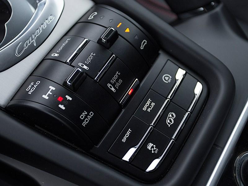 Porsche Cayenne GTS 2015 настройки подвески