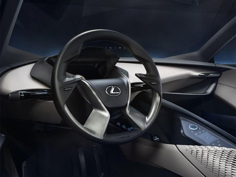 Lexus LF-SA Concept 2015 руль