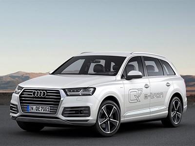 Гибрид Audi Q7 e-tron обзаведется системой беспроводной индуктивной зарядки