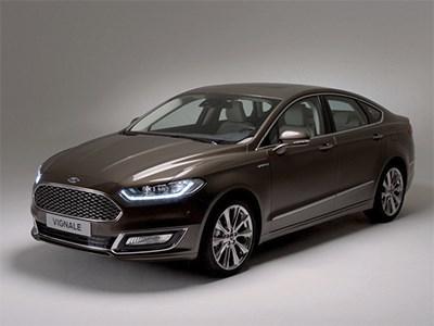 Ford Mondeo обзавелся премиальной модификацией Vignale