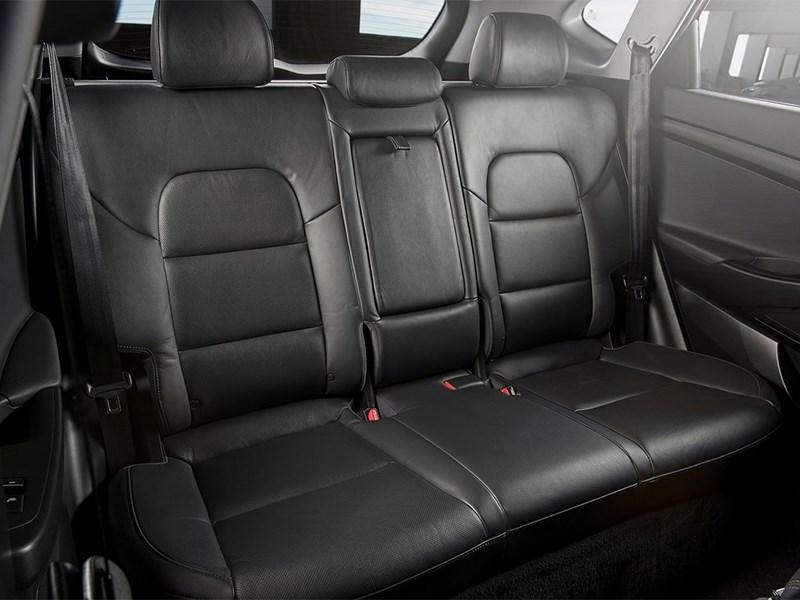 Hyundai Tucson 2016 задний диван