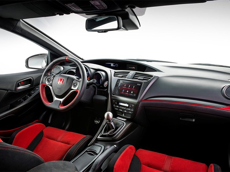 Honda Civic Type R 2015 салон