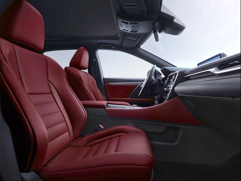 Lexus RX 350 F Sport 2016 салон