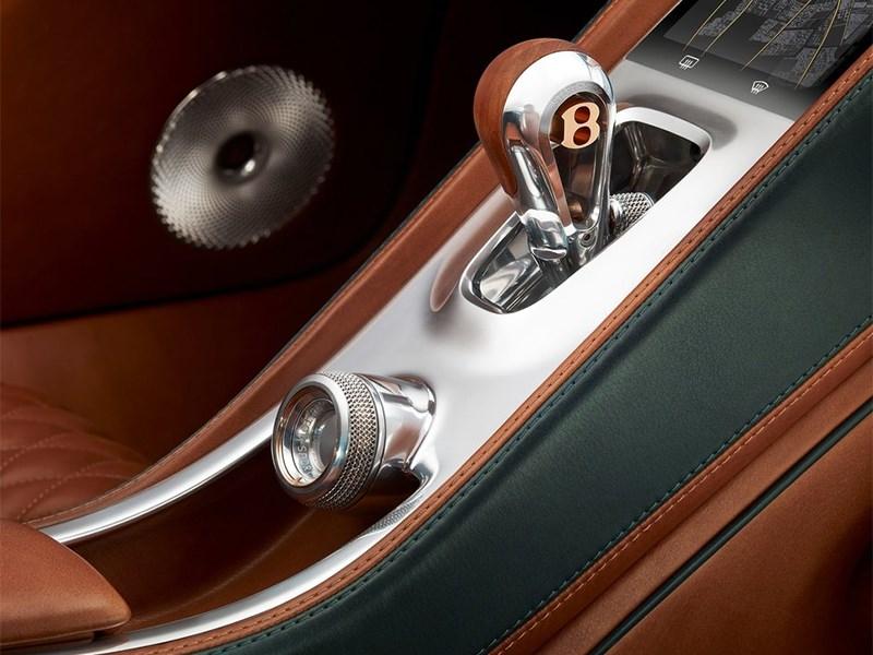 Bentley EXP 10 Speed 6 Concept 2015 центральный тонель