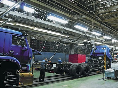 Российский «КАМАЗ» делает ставки на выпуск своих машин за рубежом