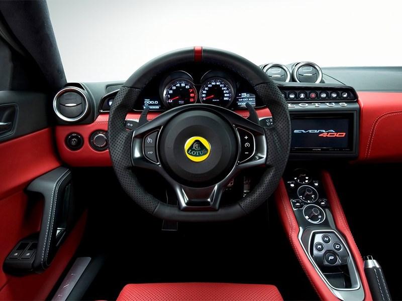 Lotus Evora 400 2016 водительское место