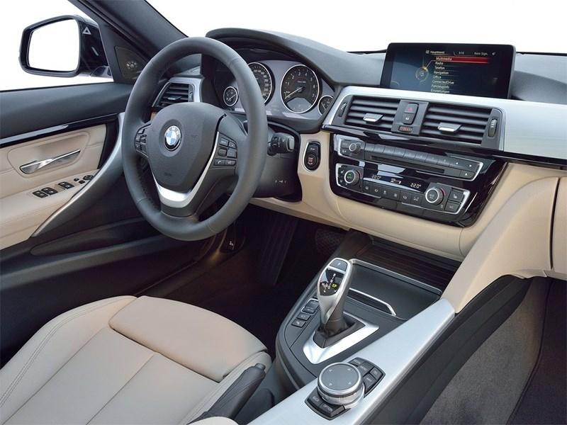 BMW 3 series 2016 салон