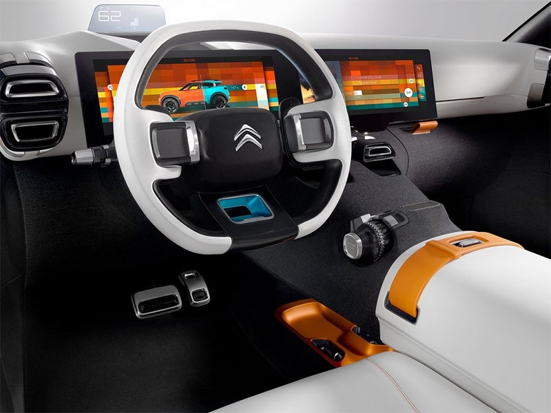 Citroen Aircross Concept 2015 водительское место