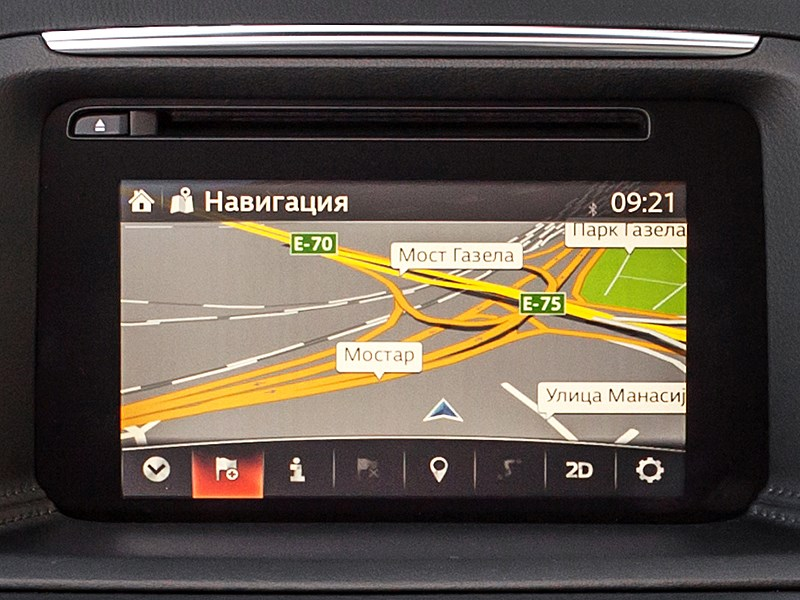 Mazda CX-5 2015 монитор