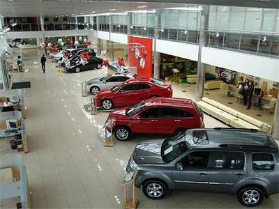 За последние пять лет в Москве продано больше новых авто, чем в других городах